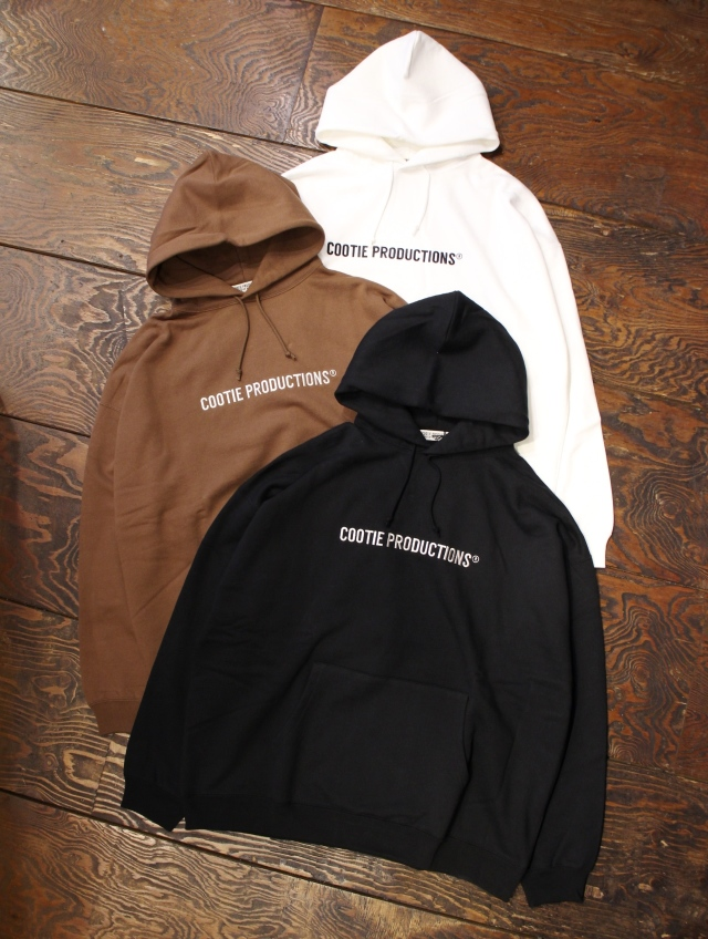 COOTIE  「 Embroidery Pullover Parka (COOTIE LOGO) 」 プルオーバーパーカー