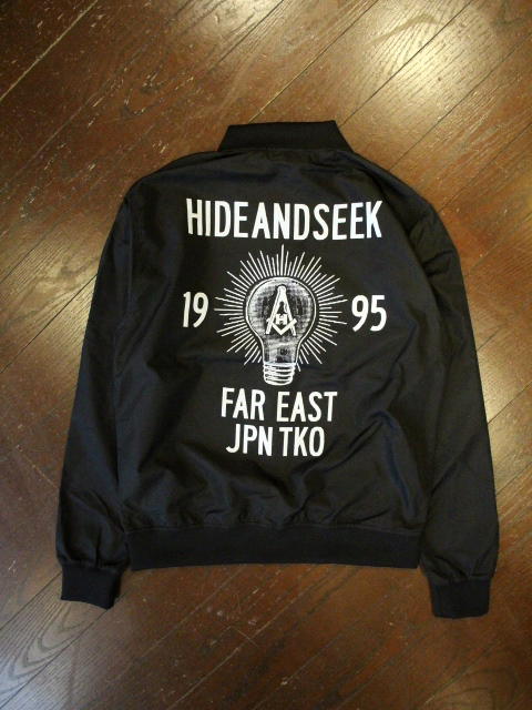 HIDEANDSEEK 「ZIP Sports Jacket」 スポーツジャケット
