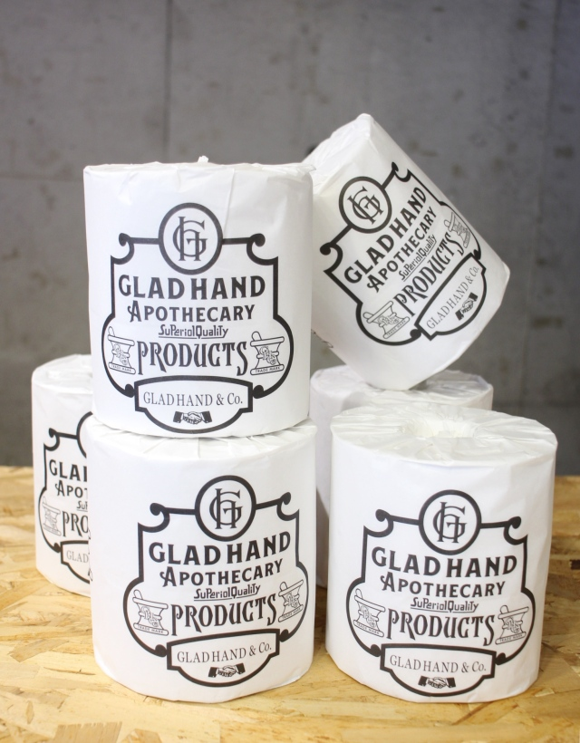 GLAD HAND APOTHECARY  「TOILET PAPER(6-PACK)」 トイレットペーパーセット