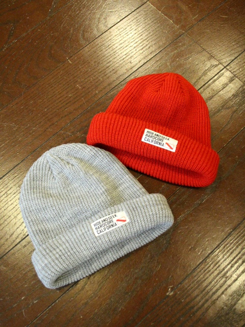 HIDEANDSEEK 「Knit CAP」 ニットキャップ