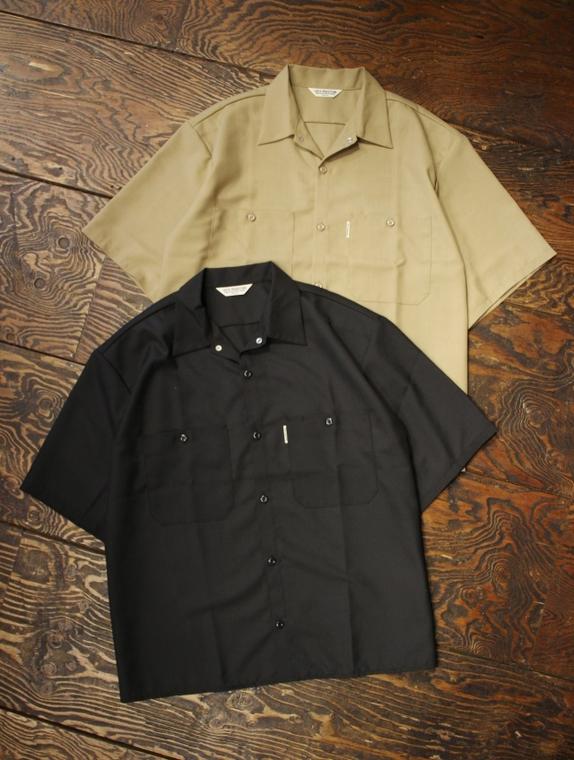 COOTIE  「T/W Work S/S Shirt」 ワークシャツ