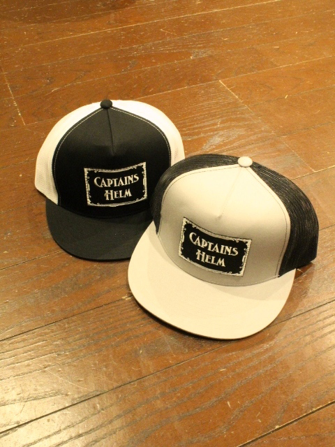 CAPTAINS HELM  「#LOGO WP MESH CAP」 メッシュキャップ