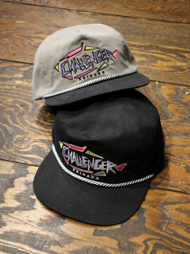 CHALLENGER    「80'S NYLON CAP」  ナイロンキャップ