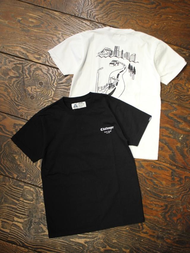 CHALLENGER    「YOKOHAMA TEE」  プリントティーシャツ