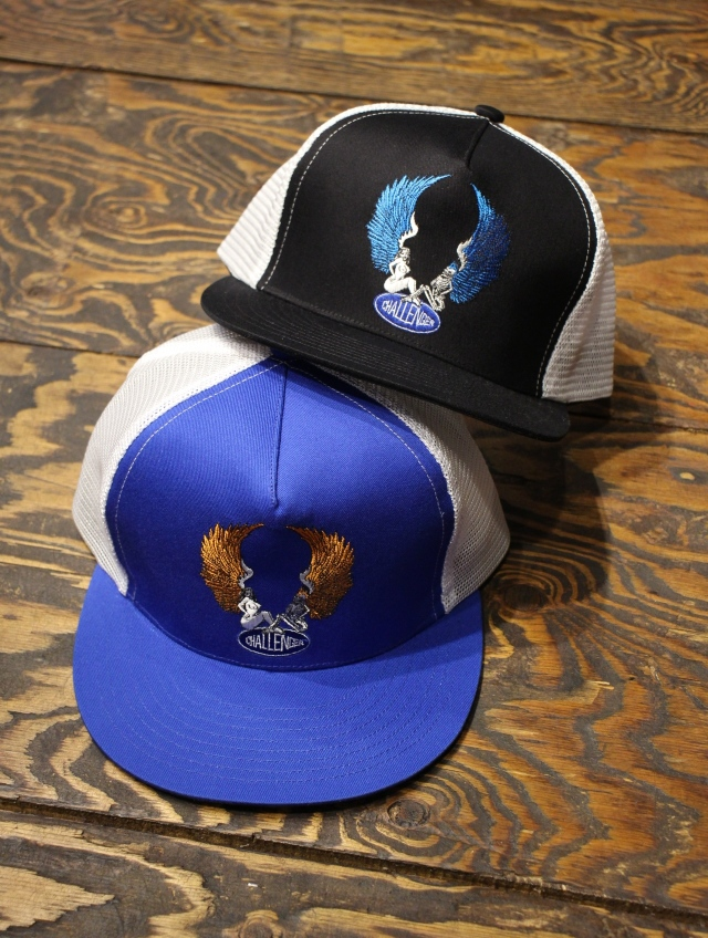 CHALLENGER    「EMBROIDERED ANGELS MESH CAP」 メッシュキャップ