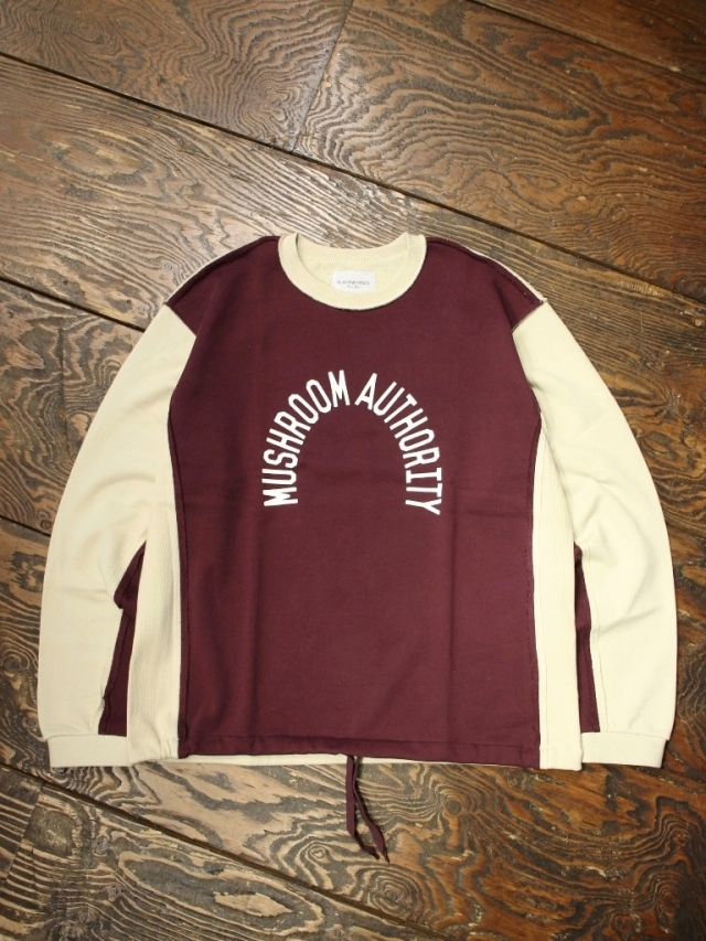 Black Weirdos  「Deformed Sweatshirt 」 クルーネックスウェット