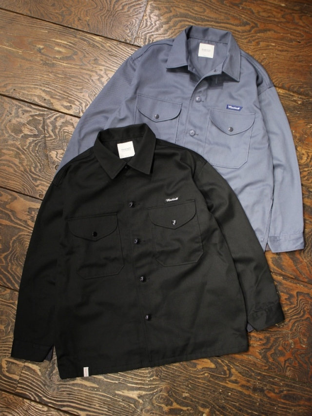 RADIALL  「CONQUISTA - WORK JACKET」  ワークシャツジャケット