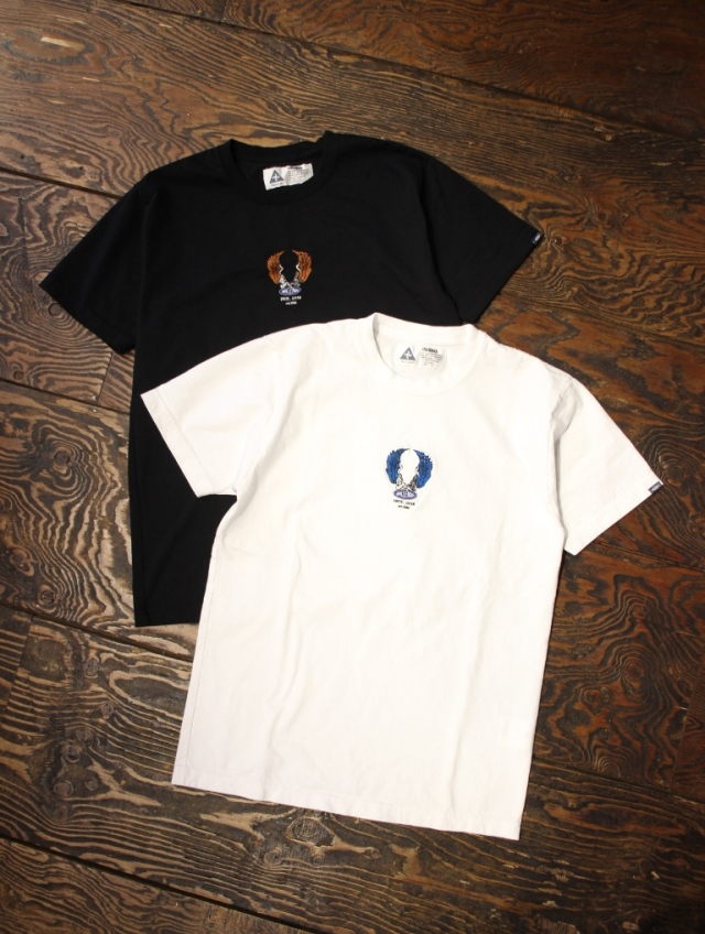 CHALLENGER  「EMBROIDERED ANGELS TEE」 刺繍ティーシャツ