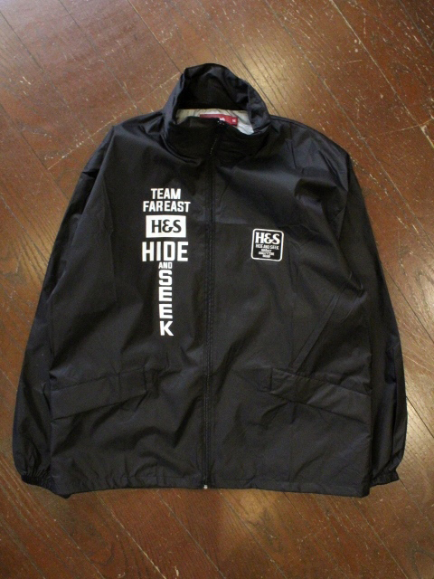 HIDEANDSEEK 「Nylon Sports ZIP JKT」 スポーツジャケット