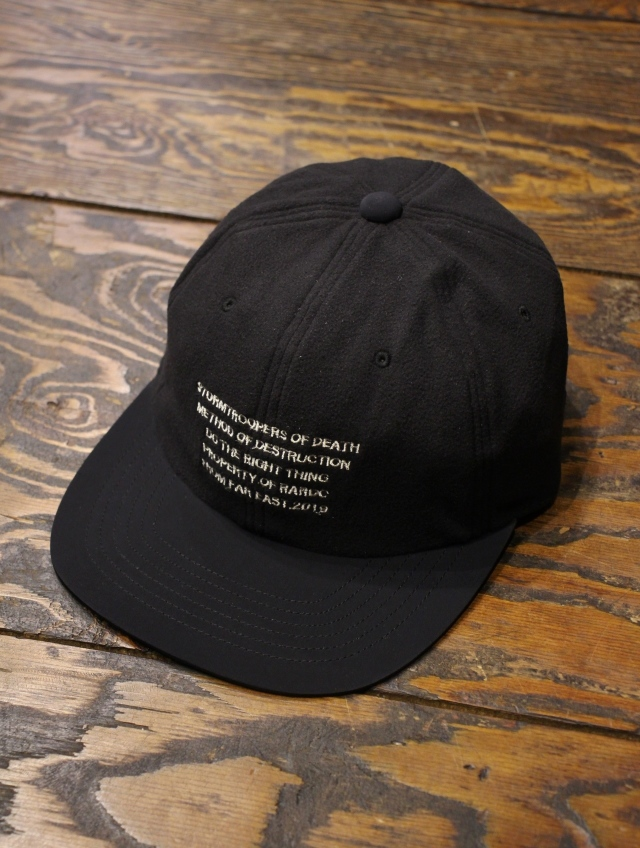 ROUGH AND RUGGED  「DESIGN CAP-02 」 6パネル フリースキャップ