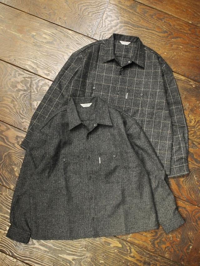 COOTIE  「 Melange Wool Work Shirt 」 ウールワークシャツ
