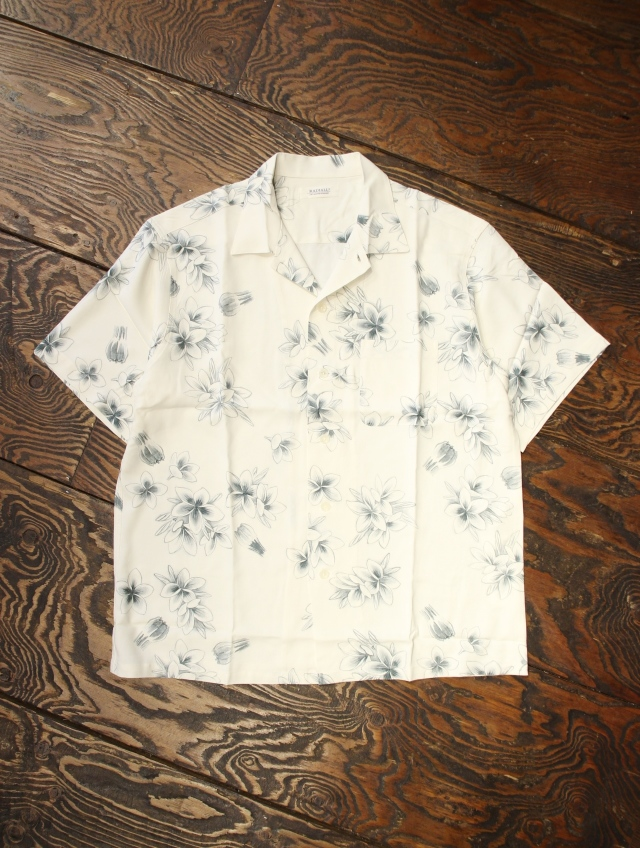 RADIALL 「REQUESTS MUSIC - OPEN COLLARED SHIRT S/S」  オープンカラーアロハシャツ