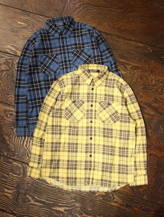 CUT RATE   「CORDUROY CHECK L/S SHIRT」  コーデュロイ チェックシャツ