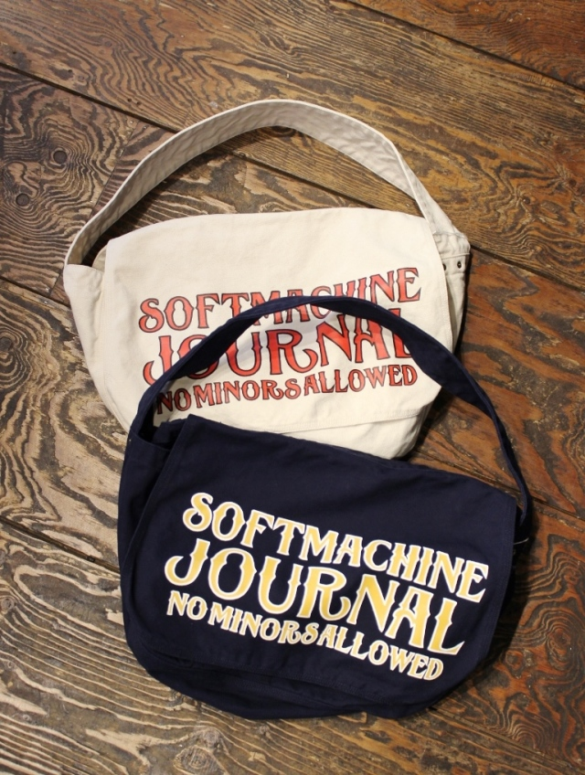 SOFTMACHINE  「SM JOURNAL NEWS PAPER BAG」 ショルダーバッグ