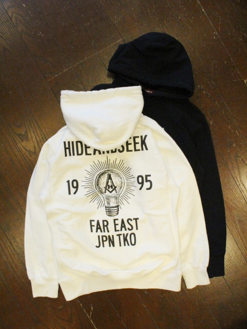 HIDEANDSEEK 「Light bulb Sweat Parka」 プルオーバーパーカー