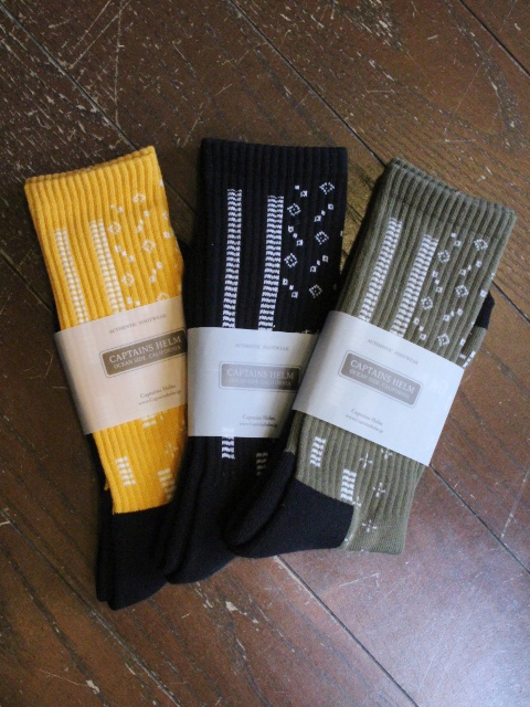 CAPTAINS HELM 「#BANDANA SOCKS」 ソックス