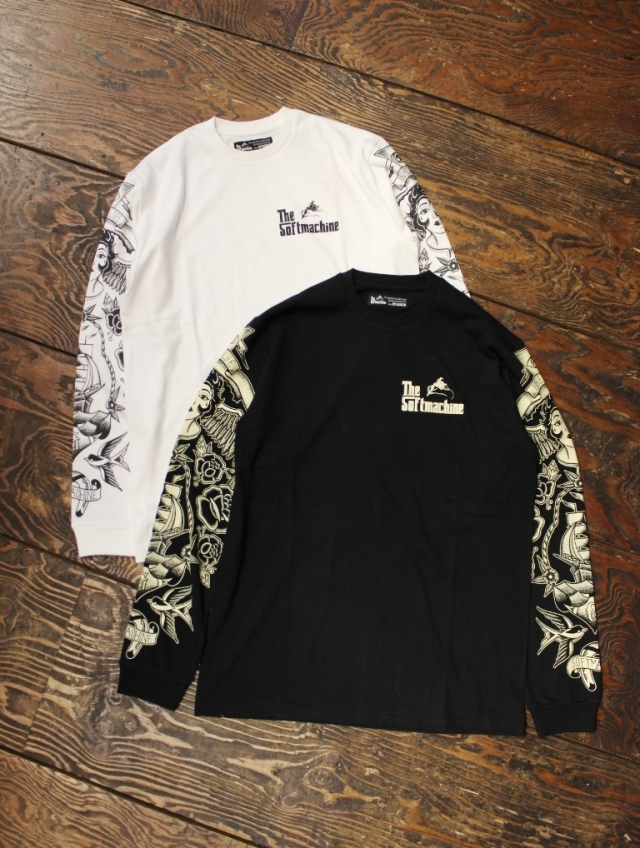 SOFTMACHINE  「ELYSION L/S」 ロングスリーブティーシャツ