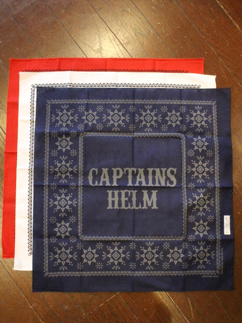 CAPTAINS HELM 「#LOGO BANDANA 」 バンダナ