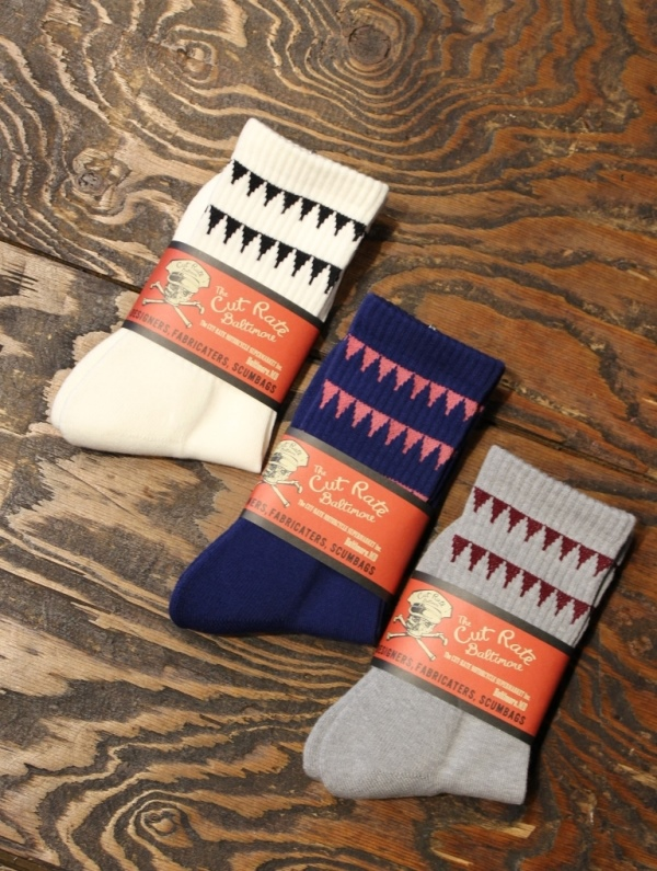 CUT RATE  「LINE SOCKS」 ソックス