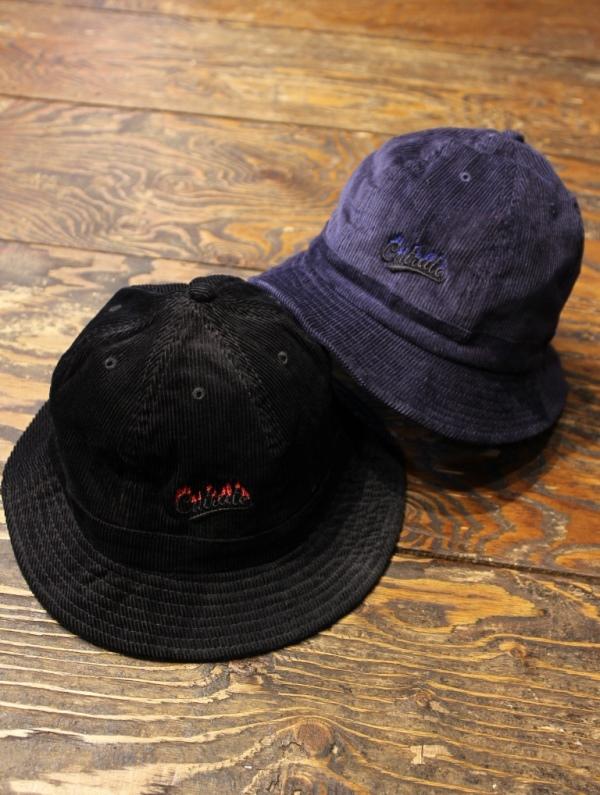 CUT RATE  「 CORDUROY METRO HAT」 コーデュロイ メトロハット