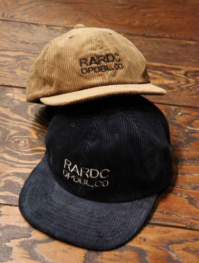 ROUGH AND RUGGED  「 DESIGN CAP / DPDBL.CO 」  コーデュロイキャップ