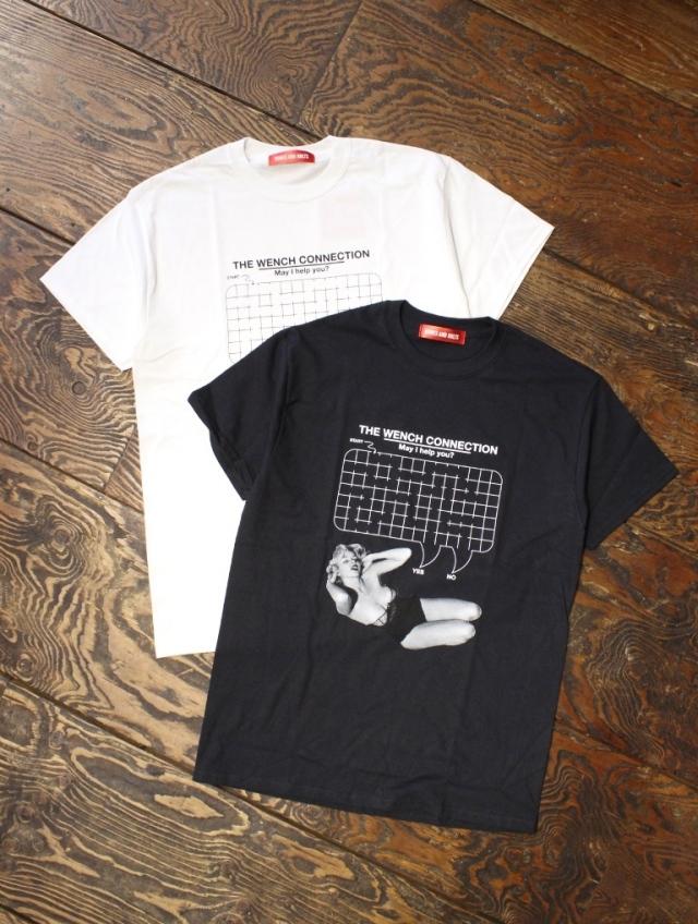BONES & BOLTS  「TEE (HELP ME)」 ティーシャツ