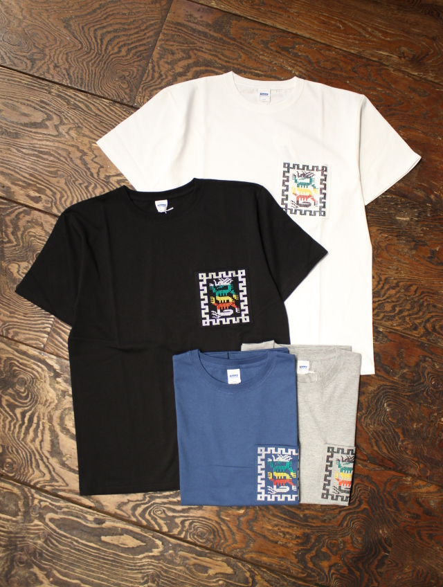 RADIALL  「COSMIC GIPSY - CREW NECK POCKET T-SHIRT」 ポケットティーシャツ