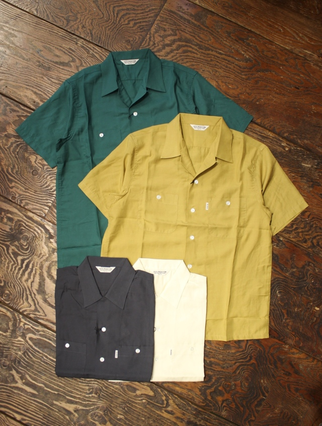 COOTIE  「Rayon Open-Neck S/S Shirt」  レーヨンシャツ