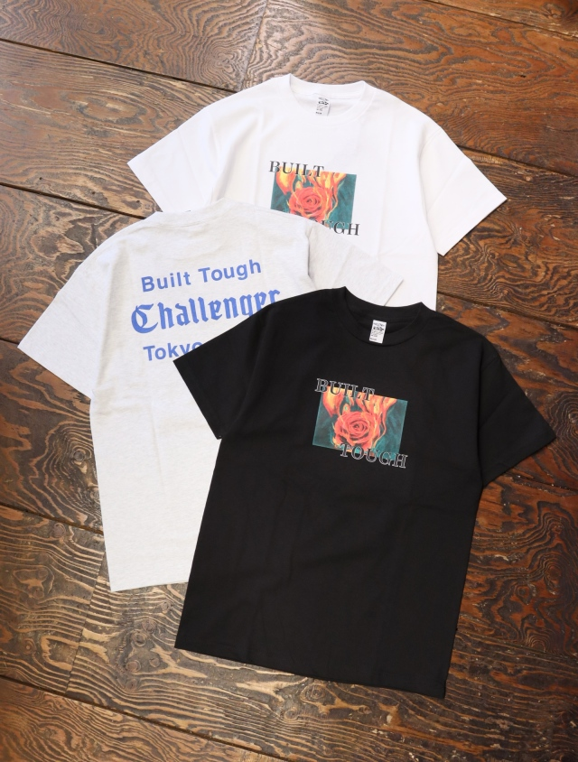 CHALLENGER    「FIRE ROSE TEE」  プリントティーシャツ