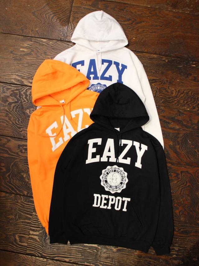 RADIALL   「EAZY DEPOT - HOODIE SWEATSHIRT L/S」  プルオーバーパーカー