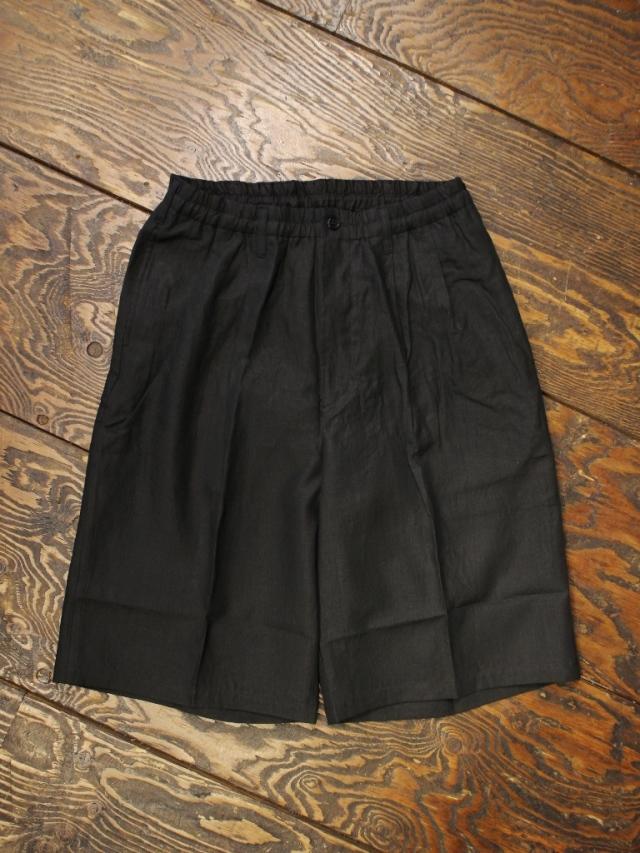 COOTIE  「Linen 2 Tuck Easy Shorts」 リネン 2タック イージーショーツ