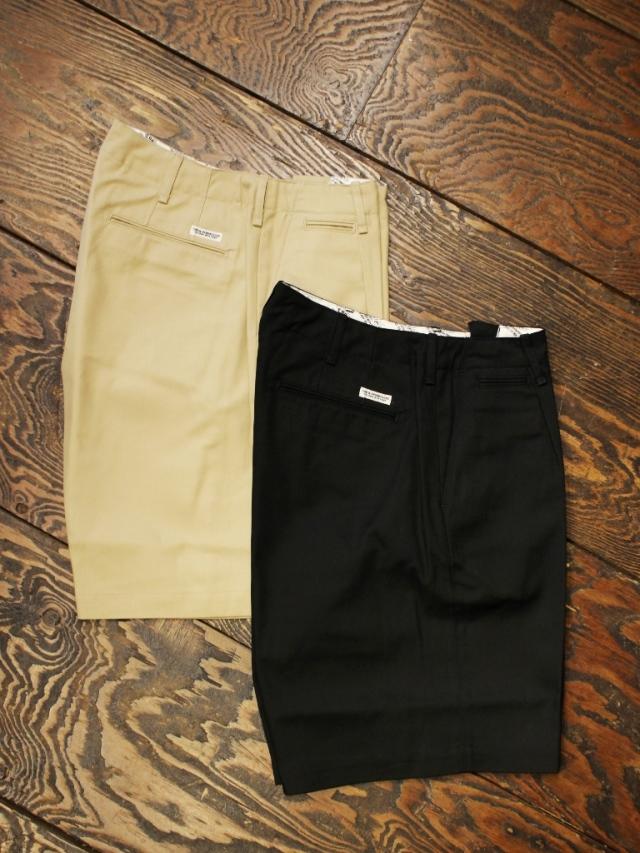 COOTIE  「T/C Serge 1 Tuck Shorts」 T/C 1タック イージーショーツ