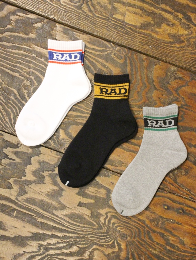 RADIALL  「2PAC SOX - LOW KICK」 ソックスセット