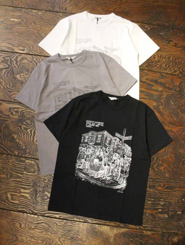 COOTIE  「Print S/S Tee (HAIGHT ASHBURY)」 プリントティーシャツ