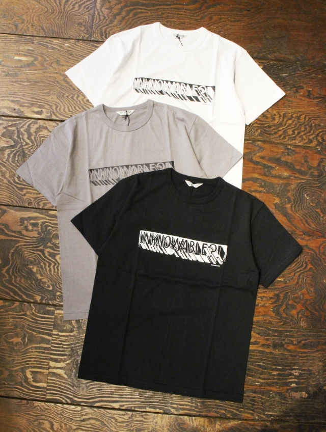 COOTIE  「Print S/S Tee (UNKNOWABLE?)」 プリントティーシャツ