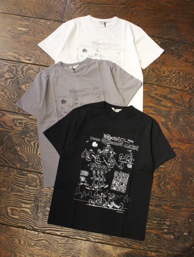 COOTIE  「Print S/S Tee (WORD PROCESSING MACHINE)」 プリントティーシャツ