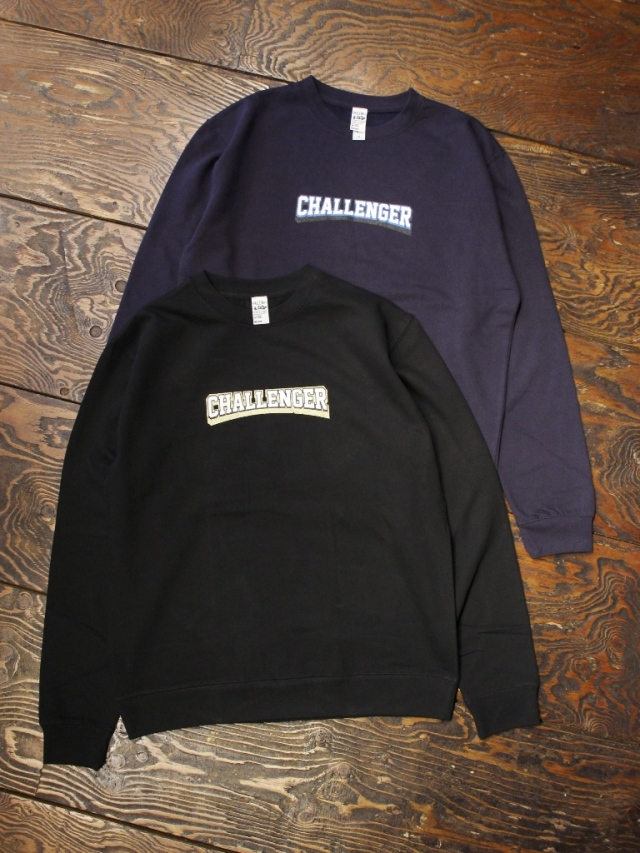 CHALLENGER   「COLLEGE LOGO C/N SWEAT」  クルーネックスウェット