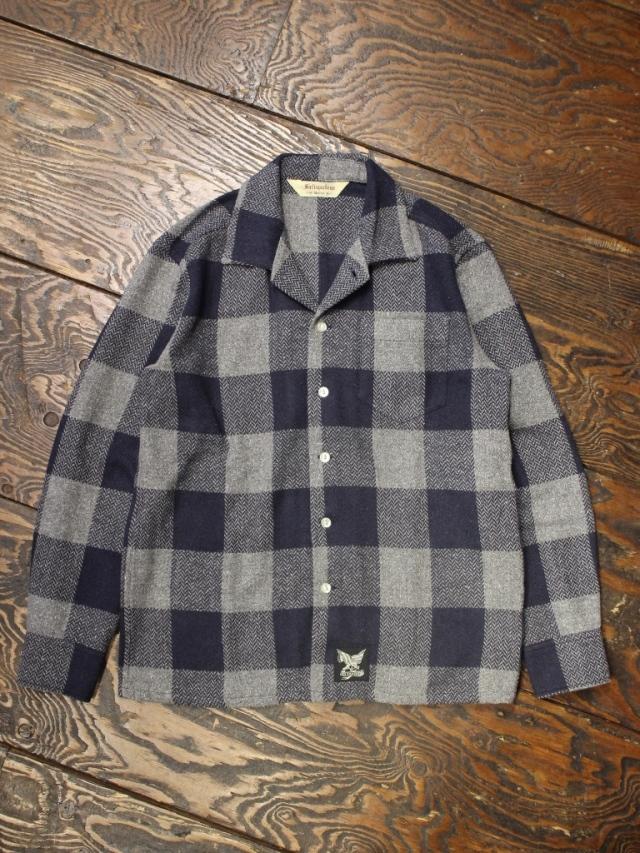 SOFTMACHINE  「MARVERICK SHIRTS L/S」 コットンネルシャツ
