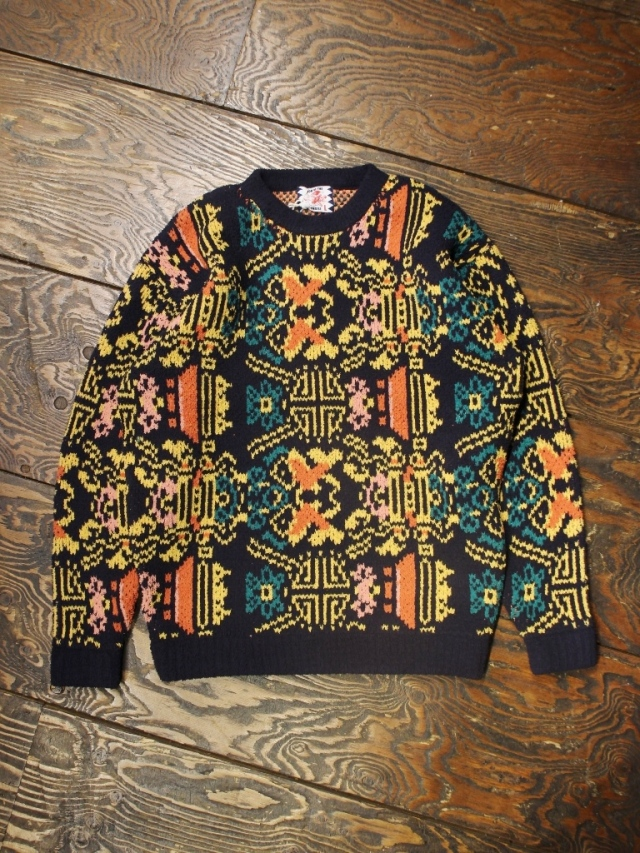 SON OF THE CHEESE  「 WALLPAPER KNIT 」 フェザーニットセーター