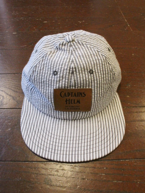 CAPTAINS HELM 「#USA MADE SEERSUCKER 6P CAP」 6パネルキャップ