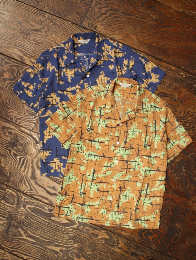 COOTIE  「 Atomic Camouflage S/S Shirt 」 レーヨンシャツ