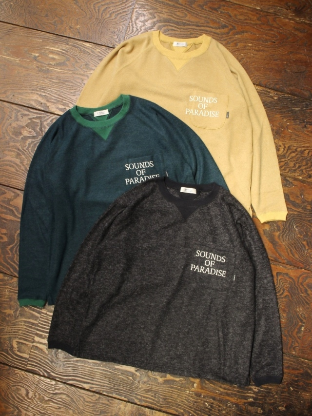 RADIALL 「SOP - CREW NECK POCKET T-SHIRT L/S」 ポケットロンティー