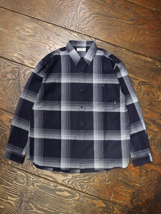RADIALL  「MONTE CALRO - REGULAR COLLARED SHIRT L/S」  レギュラーカラーチェックシャツ