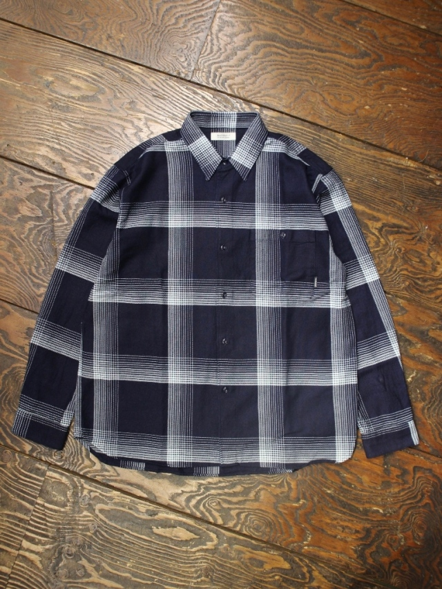 RADIALL  「MONTE CALRO - REGULAR COLLARED SHIRT L/S」  レギュラーカラーチェックシャツ