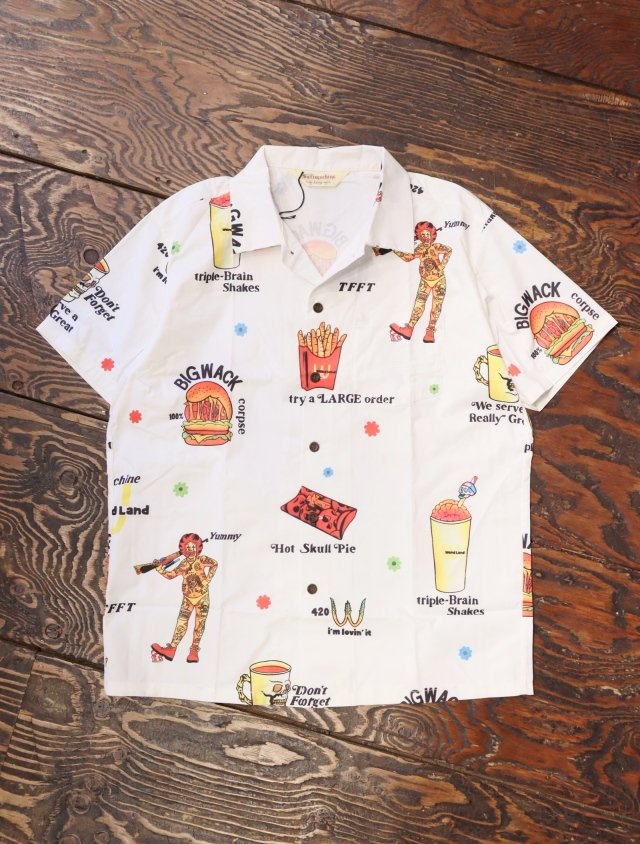 SOFTMACHINE  「LOVIN'IT SHIRTS S/S」 オープンカラーシャツ