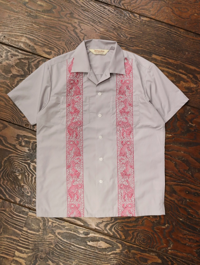 SOFTMACHINE  「TIGER CLIFF SHIRTS S/S」 オープンカラーシャツ
