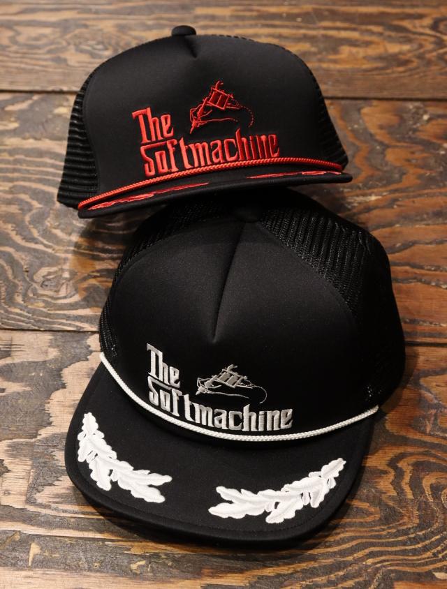 SOFTMACHINE  「GOD BS CAP」 メッシュキャップ