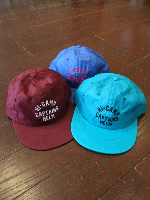 CAPTAINS HELM 「#HI-CAMP CAP」 キャンプキャップ