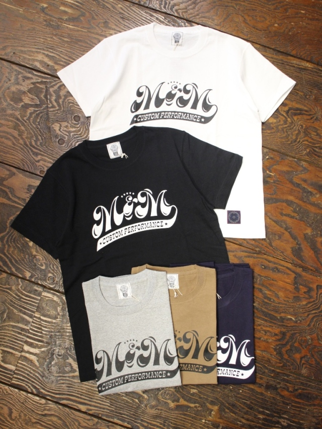 【 8月25日 発売!】 M&M CUSTOM PERFORMANCE   「 PRINT S/S T-SHIRT 」 プリントティーシャツ
