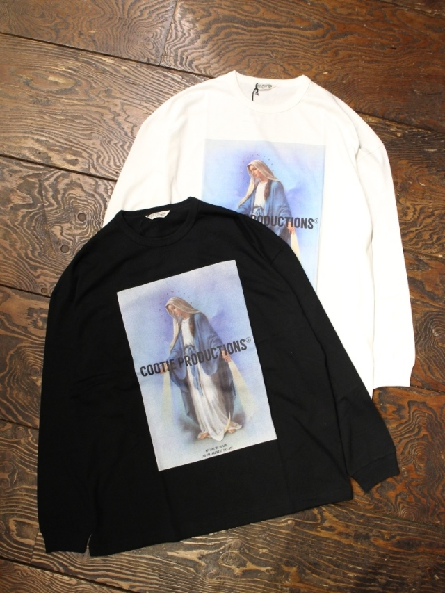 COOTIE  「 Print L/S Tee (MARY) 」 プリントロンティー